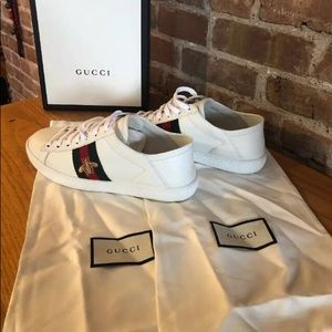 New In Box size 36.5 Authentic Women's Gucci Ace